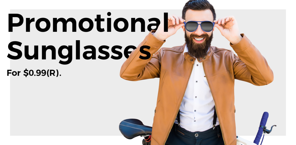 3 Incredible Promotional Sunglasses For $0.99!