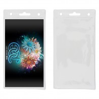 Blank Clear ID/Badge Holder