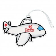 Airplane Luggage Tag