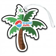 Palm Tree Luggage Tag