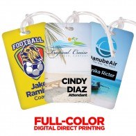 Premium Full Color Luggage Tag