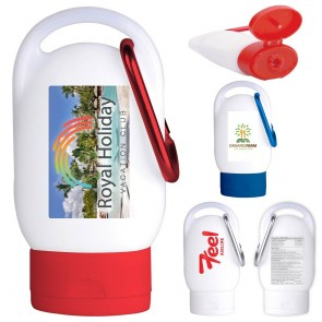 Sunscreen SPF 30 w/Carabiner