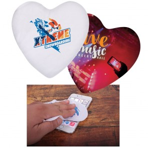 Heart Shape Microfiber Cloth - 170GSM