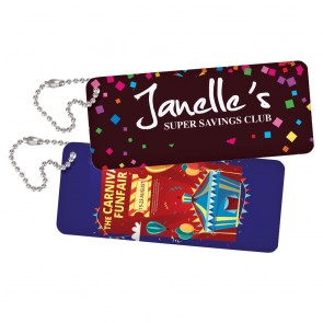Digital Brand Key Tag 1.25x3