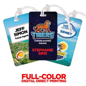 Digital Deluxe Full Color Luggage Tag