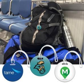 Digital Mini Round Bag Tag 2x2